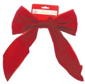 60 of CHRISTMAS RED VELVET BOW PREPRICED $ 1.28