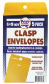 36 of CLASP ENVELOPE 5 PACK 6 X 9 INCH