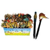 144 of LAND AND SEA LETTER OPENERS 6 INCH WITH DISPLAY ASSORTED ANIMAL DESIGNS
