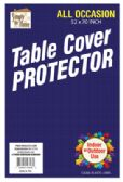 36 of VINYL TABLECLOTH PROTECTOR 52 X 70 INCH RECTANGULAR