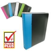 12 of ZIPPER BINDER 1.5 INCH 3 RING ASSORTED COLORS