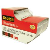 144 of 3M SCOTCH TAPE 2 PACK 0.75 x 250 INCH