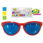 48 of GIANT PARTY GLASSES 10 INCH ASSORTED COLORS