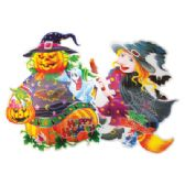 72 of HALLOWEEN WALL DECORATION 17 X 15 INCH 3D
