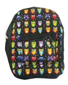 18 of BACK PACK 16X12X6 INCHES OWLS