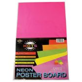 36 of POSTER BOARD 14 X22IN 2 PACK NEON PINK AND YELLOW