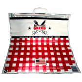 50 of THERMAL PICNIC BAG INSULATED HOT/COLD 20 X 20 X 7 INCHES