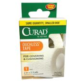 24 of CURAD OUCHLESS TAPE 2 INCHESx2.3YDS UNSTRETCHED HOSPITAL QUALITY