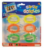 36 of SWIM GOOGLES 3PK ASTD ADULTS ONLY