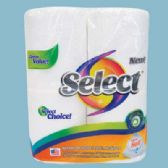 24 of SELECT BATH TISSUE 4 PACK 135-2 PLY SHEETS