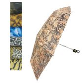 36 of UMBRELLA 3 FOLD 41 INCH ASSORTED DESIGNS