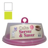 36 of CAKE SERVER 10 INCH ASSORTED COLORS