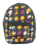 18 of BACK PACK 16X12X6 INCHES EXPRESSION FACE DESIGN