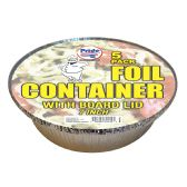 36 of FOIL CONTAINER 7 INCHES WITH BOARD LID 5 PACK