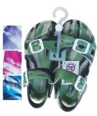 24 of UNISEX SANDALS ADJUSTABLE STRAPS TODDLER ASSORTED SIZES 5-10 AND COLORS