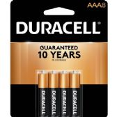 40 of DURACELL AAA 8 PK COPPERTONE BATTERIES