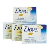 12 of DOVE BEAUTY CREAM BAR 100G 4 PK