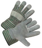 12 of WORKING GLOVES LEATHER 1 PAIR