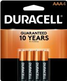 54 of DURACELL AAA 4 PK COPPERTONE BATTERIES