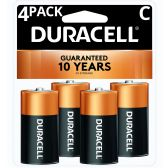 18 of DURACELL C 4 PK COPPERTONE BATTERIES