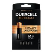 24 of DURACELL OPTIMUM AA4