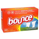 6 of BOUNCE 120 CT FABRIC SOFTENER SHEETS