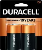 48 of DURACELL D 2 PK COPPERTONE BATTERIES