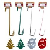 24 of WREATH HANGER SANTA/TREE SHAPE