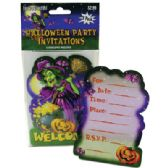 72 of HALLOWEEN PARTY INVITATIONS 8 COUNT WITH ENVELOPES