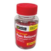24 of PAIN RELIVER XTRA STRENGTH ACETAMINOPHEN 40 SOFTGELS 500 MG