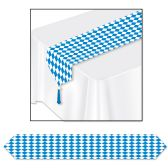 "12 of Printed Oktoberfest Table Runner 11"" x 6'"