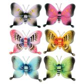 12 of Majestic Butterflies Asstd Designs; Nylon