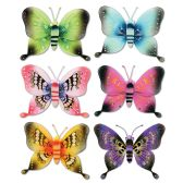 12 of Jumbo Majestic Butterflies Asstd Designs; Nylon