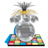 12 of Disco Ball Centerpiece 13""