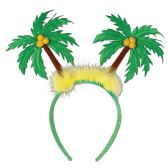 12 of Palm Tree Boppers Attached to Snap-on Headband