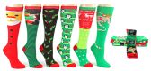 60 of Christmas Knee High Socks - Size 9-11