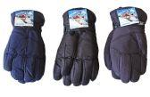 36 of Men's Ski Gloves - Solid Colors