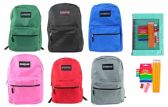 "24 of 17"" Classic PureSport Backpack & Elementary School Supply Kit Sets"