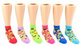 24 of Toddler's Novelty Ankle Socks - Emoji Print - Size 2-4