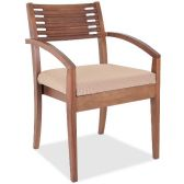 Lorell Brown Guest Chair