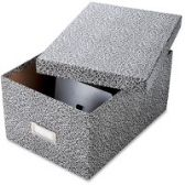 6 of Oxford Index Card Storage Boxes
