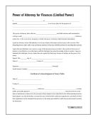 10 of Limited Power of Attorney, Forms and Instructions
