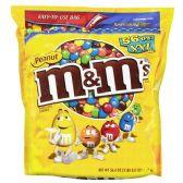 Candy, M&M's, Peanut 56 oz. (3 lbs., 8 oz.)
