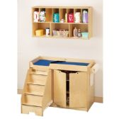 Jonti-Craft Changing Table - with Stairs - Left