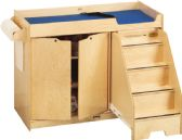Jonti-Craft Changing Table - with Stairs - Right