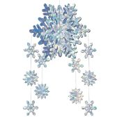 12 of 3-D Snowflake Mobile