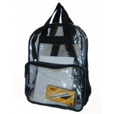 120 of Clear PVC Backpack - Assorted Colors