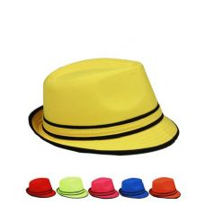 12 of Fedora hats for summer Assorted Colors