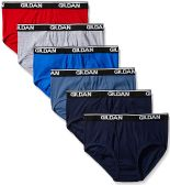 180 of Gildan Mens Briefs, Assorted Colors And Sizes 2XL Only Assorted Colors First Quality
