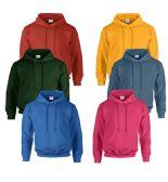 24 of Gildan Unisex Mill Graded Irregular 2ND Hooded Pullover Sweat Shirts